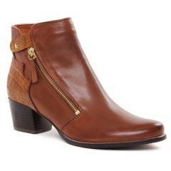 Chaussures femme hiver 2021 - boots talon Regarde le ciel marron