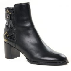 Chaussures femme hiver 2021 - boots talon fugitive noir