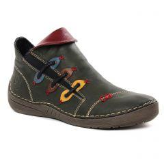 boots vert kaki: même style de chaussures en ligne pour femmes que les Rieker