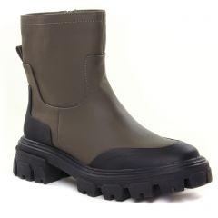 boots vert kaki: même style de chaussures en ligne pour femmes que les Vanessa Wu