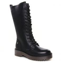bottes-a-lacets noir: même style de chaussures en ligne pour femmes que les Xti