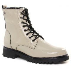 bottines-a-lacets blanc ivoire: même style de chaussures en ligne pour femmes que les Tamaris