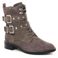 bottines-a-lacets gris: même style de chaussures en ligne pour femmes que les Tamaris