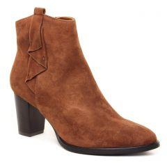 Chaussures femme hiver 2021 - bottines à lacets Regarde le ciel marron