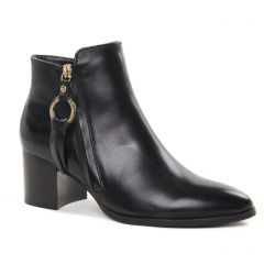 Chaussures femme hiver 2021 - bottines à talon Regarde le ciel noir