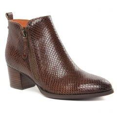 Chaussures femme hiver 2021 - bottines Mamzelle marron