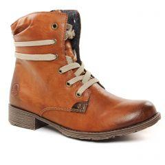 bottines marron: même style de chaussures en ligne pour femmes que les Rieker