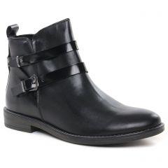 Chaussures femme hiver 2021 - boots Jodhpur marco tozzi noir