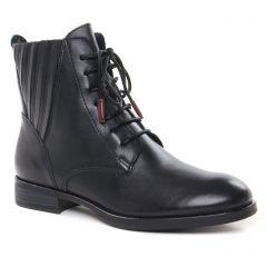 Chaussures femme hiver 2021 - bottines marco tozzi noir