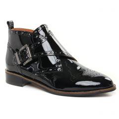 Chaussures femme hiver 2021 - low boots Mamzelle vernis noir