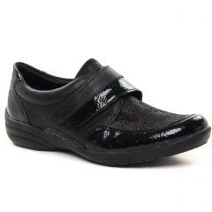 Chaussures femme hiver 2021 - chaussures à lacets Remonte noir