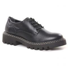 Chaussures femme hiver 2021 - derbys tamaris noir
