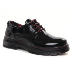 Chaussures femme hiver 2021 - derbys Xti noir