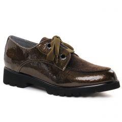 Chaussures femme hiver 2021 - derbys fugitive marron bronze