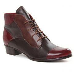 low-boots bordeaux: même style de chaussures en ligne pour femmes que les Regarde Le Ciel