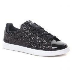Chaussures femme hiver 2021 - tennis Victoria noir pailleté