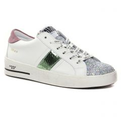 Chaussures femme hiver 2021 - Tennis plateforme Semerdjian SMR23 blanc multi