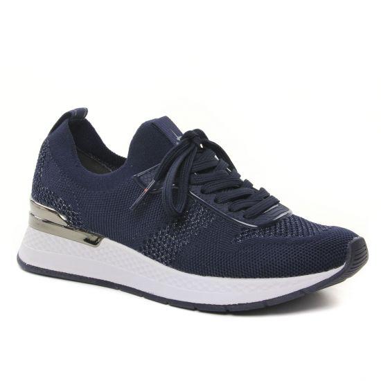 Tennis Et Baskets Mode Tamaris 23712 Navy Met, vue principale de la chaussure femme