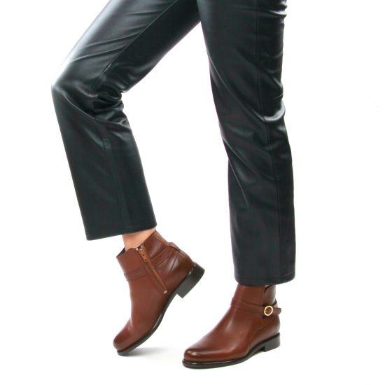 Chaussures femme hiver 2021 - boots Jodhpur Scarlatine marron