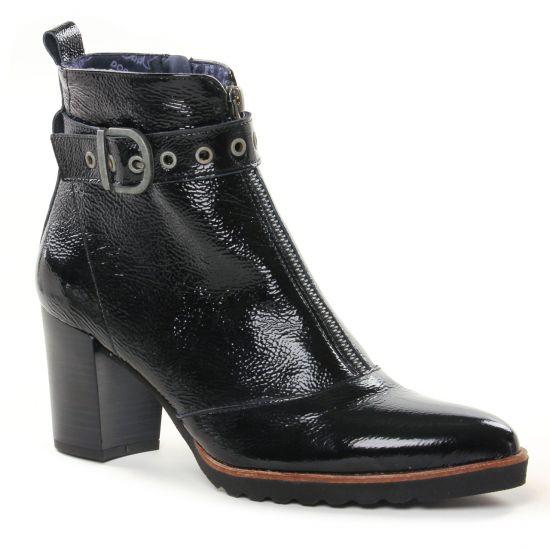 Bottines Et Boots Dorking D8300 Noir, vue principale de la chaussure femme