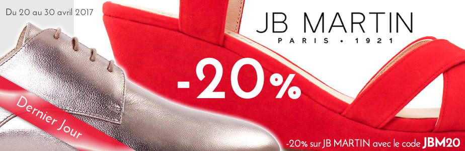 JB Martin promo nouvelle collection 2017