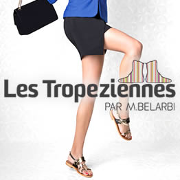 marque chaussure Les Tropéziennes Belarbi