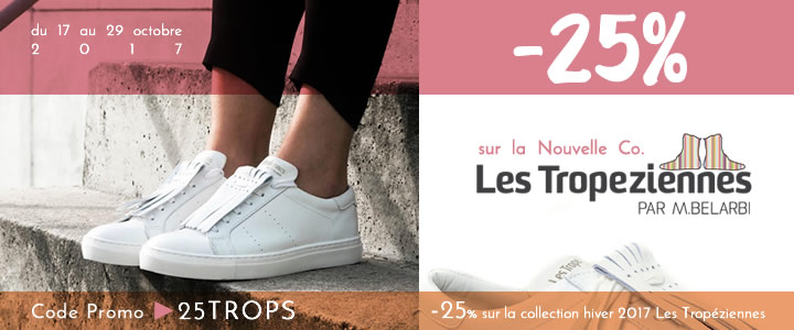 promotion sur la nouvelle collection Les Tropéziennes