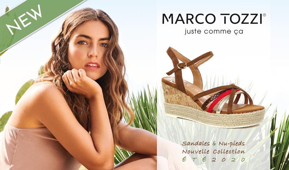 marco tozzi sandales nouvelle collection