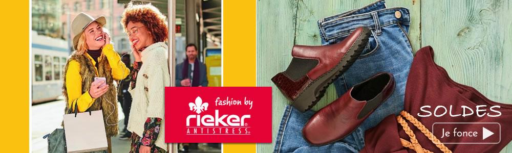 chaussures femme  Rieker