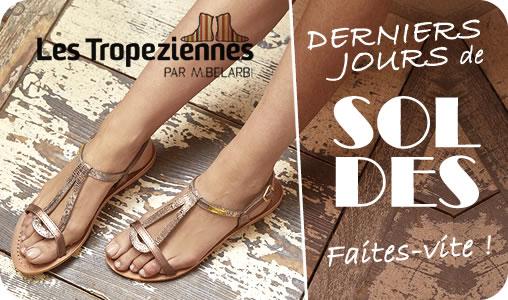 Tropéziennes en soldes sandales nouvelle collection 2020