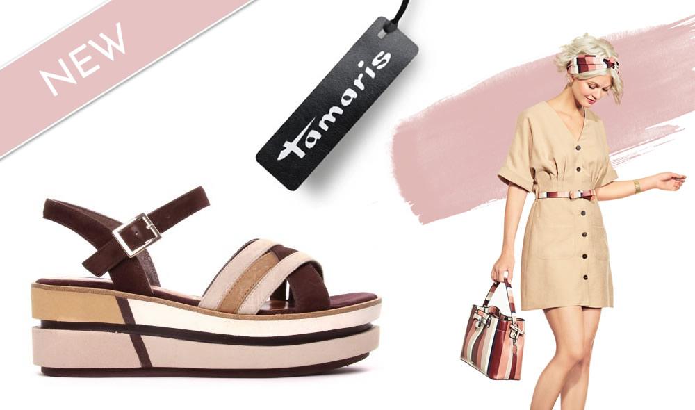tamaris sandales plateforme nouvelle collection