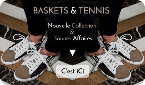 Baskets femme tendance nouvelle collection et pas chères