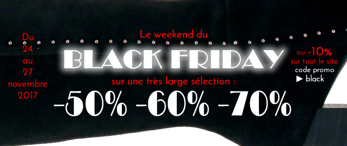 Black Friday promo chaussures