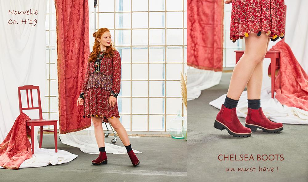 bottines chelsea pour femme nouvelle collection 2019
