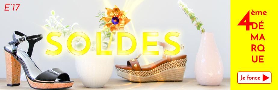 soldes femme chaussures été 2017