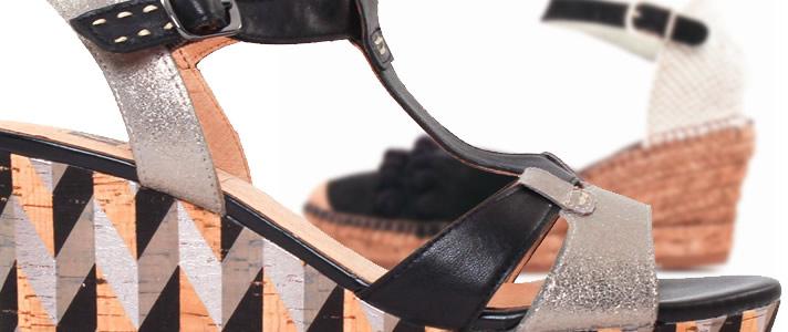 chaussures compensées femme
