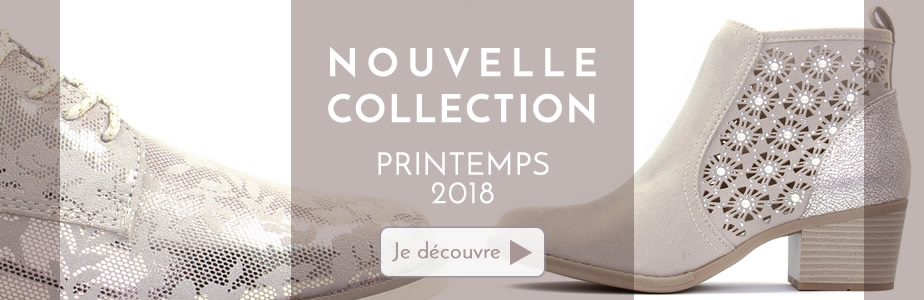 Chaussures nouvelle collection printemps