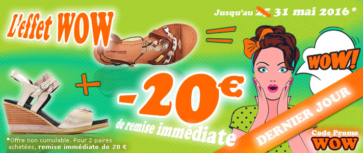 promo wow chaussures
