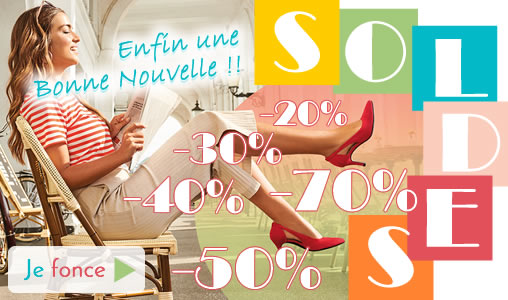 SOLDES ÉTÉ | chaussures femme 2019 en soldes | TROIS PAR 3