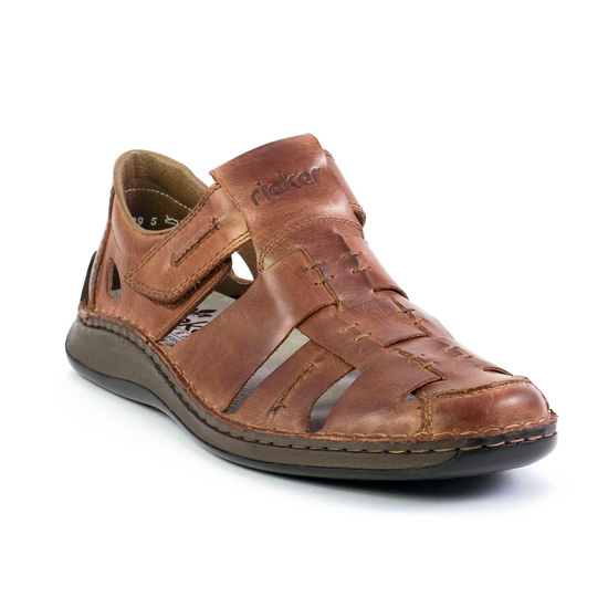 Marques Chaussure homme Rieker homme Barry 05275 Toffee