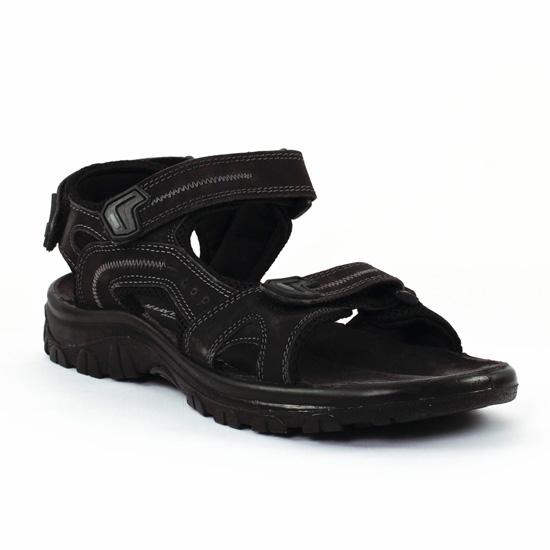 Marco Tozzi 18400 Noir - Chaussures Sandale Homme