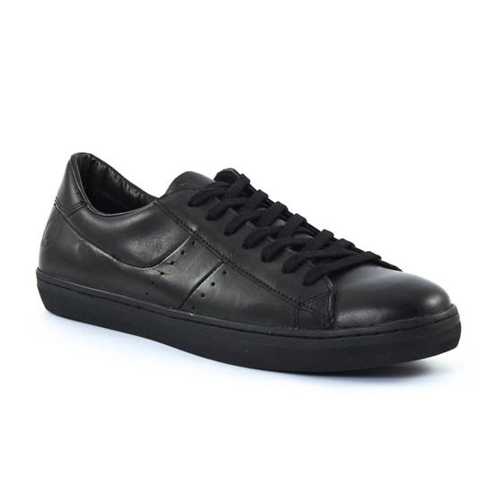 Chaussures Basses À Lacets Greenstone berto Noir, vue principale de la chaussure homme