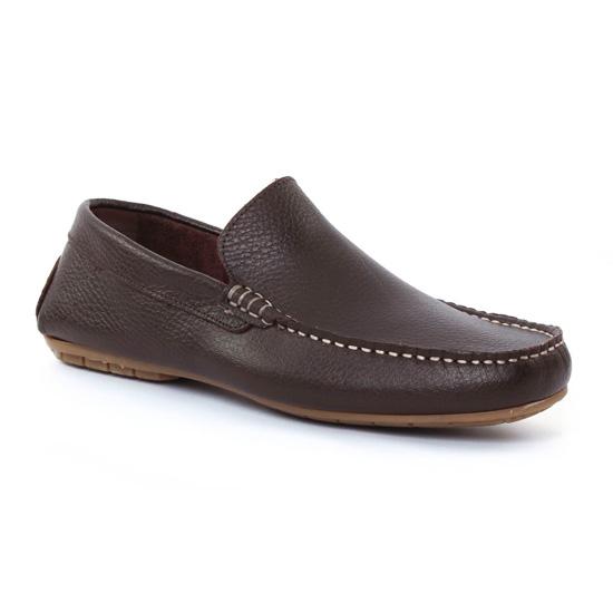 Mocassins Et Bateaux Ciao Polo 325 Marron, vue principale de la chaussure homme