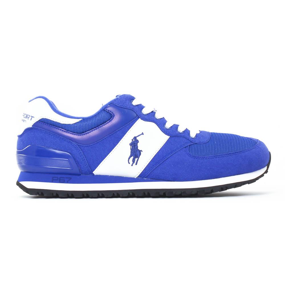 2a7974ebf6c02c Polo Ralph Lauren Slaton Poney Bleu   tennis bleu roi printemps été ...