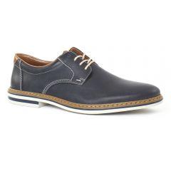 Chaussures homme été 2016 - derbys rieker bleu marine