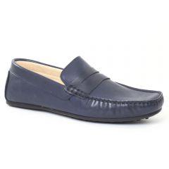 mocassins bleu: même style de chaussures en ligne pour hommes que les Christian Pellet