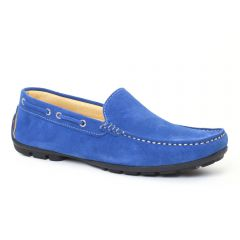 Chaussures homme été 2016 - mocassins Ciao Polo bleu ciel