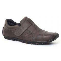 Chaussures homme été 2016 - mocassins rieker marron foncé