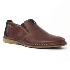 Chaussures homme été 2016 - mocassins rieker marron