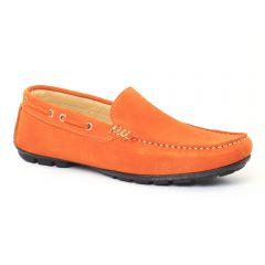 Chaussures homme été 2016 - mocassins Ciao Polo orange